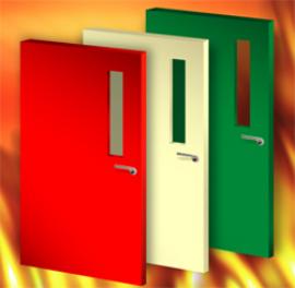 fire rated door image